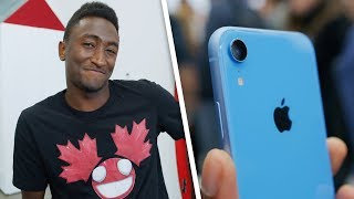 iPhone Xr Specs Letdown? Ask MKBHD V32! thumbnail
