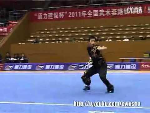 2011 National Wushu Championships - Daoshu (Men) - 001.flv