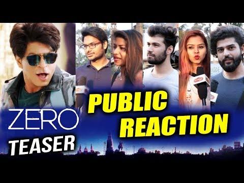 ZERO Teaser | PUBLIC REACTION | Shahrukh Khan As DWARF