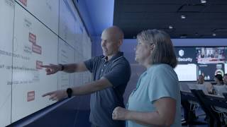 Look inside an IBM X-Force Command Center