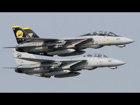 Navy F-14 Tomcat Fighter Interceptor 1974 - 2006