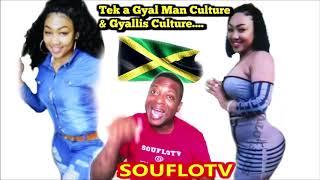 Jamaica (tek people man) and gyallis culture Warning