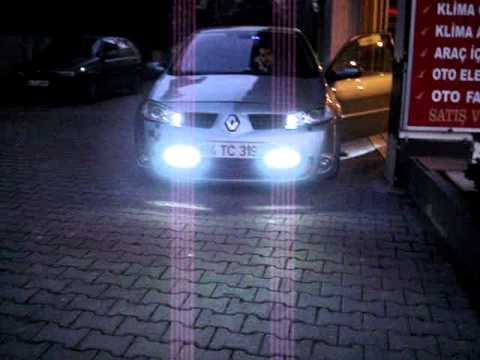 renault megane sport led g nd z far uygulamas youtube. Black Bedroom Furniture Sets. Home Design Ideas