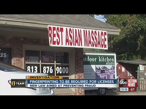 New law targets untrained massage workers