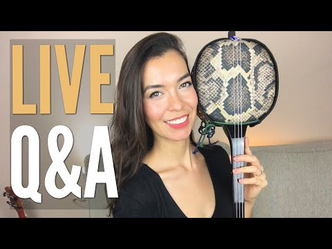 LIVE (Replay) I bought a new instrument!! Q&A
