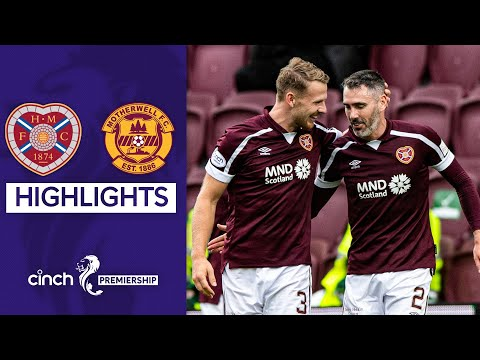 Hearts Motherwell Goals And Highlights