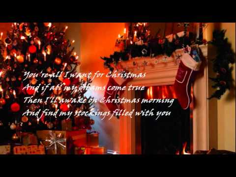 EDDIE FISHER - YOU'RE ALL I WANT FOR CHRISTMAS - YouTube