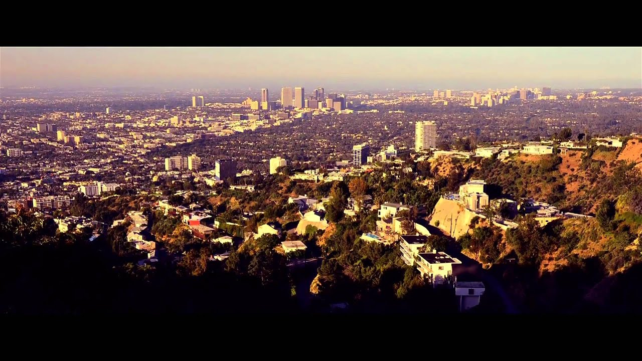 Hollywood Hills Sunrise Timelapse