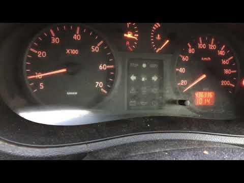 Renault Kangoo 1,5dci, engine k9k не заводится пока не загорится накал.