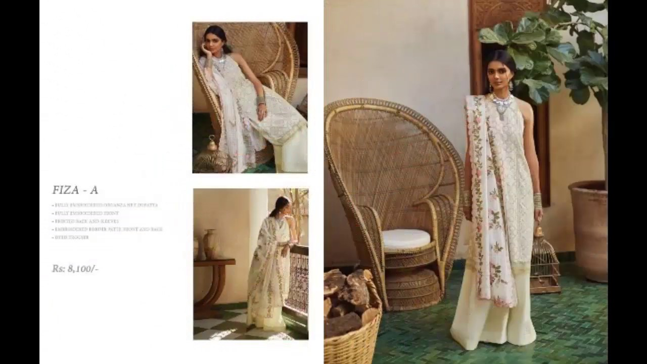 e525e3b89b Zara ShahJahan Latest Summer Lawn New Collection 2019 - YouTube
