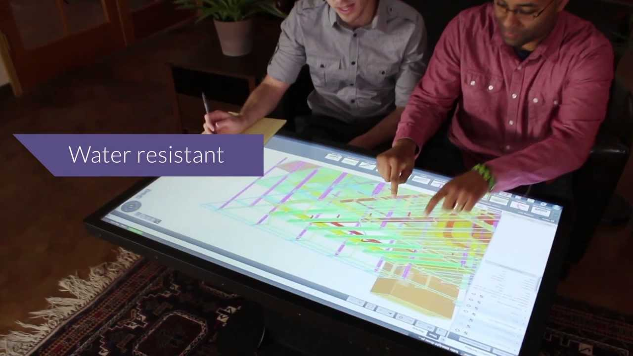 The multitouch table redefined platform 46 coffee table youtube the multitouch table redefined platform 46 coffee table geotapseo Gallery