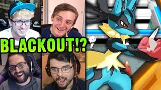 ANOTHER BLACKOUT!? | Cutthroat Pokemon X and Y 5-Player Nuzlocke Versus | #10