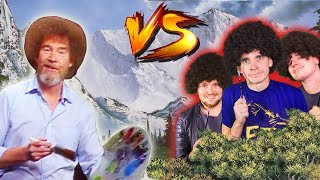 THE BOB ROSS PAINT OFF CHALLENGE