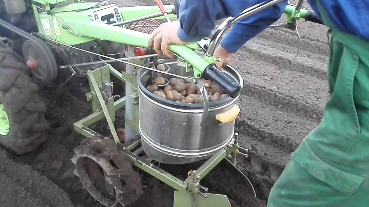 Сажалка для картофеля на мотоблок своими руками 885