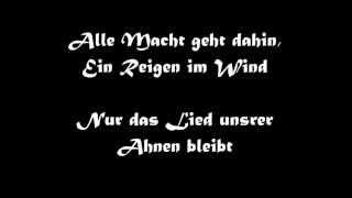 Oonagh: Das Lied der Ahnen (mit lyrics)