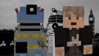 Doctor Who - Dalek Invasion of Earth part 2 (minecraft remake)
