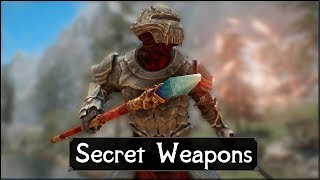 Skyrim: 5 Secret and Unique Weapons You May Have Missed in The Elder Scrolls 5: Skyrim (Part 3)
