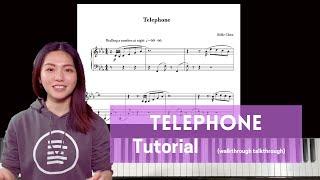 Belle Chen - Telephone - Tutorial \u0026 Talk-Through