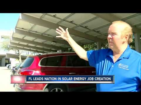 Solar industry booming in Florida