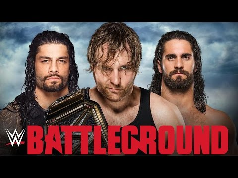 ROMAN REIGNS vs SETH ROLLINS vs DEAN AMBROSE - WWE BATTLEGROUND 2016 [WWE 2K16]