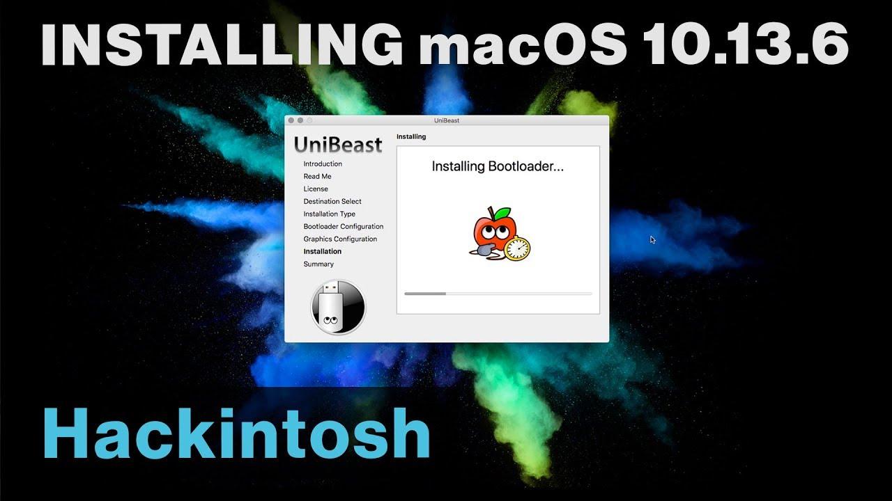 Hackintosh High Sierra Installation Guide (macOS 10 13 6)