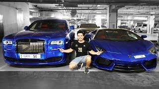 GARAJE PRIVADO MILLONARIO DE AUTOS EN DUBAI