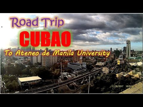 TRAVELLING AS IT IS! Road trip from Cubao, Quezon City to Ateneo De Manila University