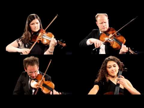 Carducci Quartet  Philip Glass  String Quartet No 2  2nd Mvt
