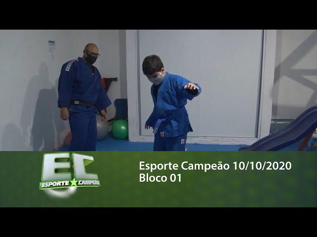 Esporte Campeão 10/10/2020 - Bloco 01