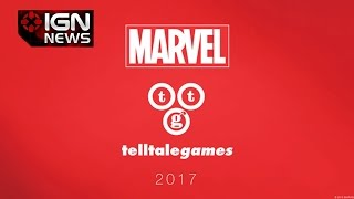 Marvel Comics Telltale Game Coming in 2017 - IGN News