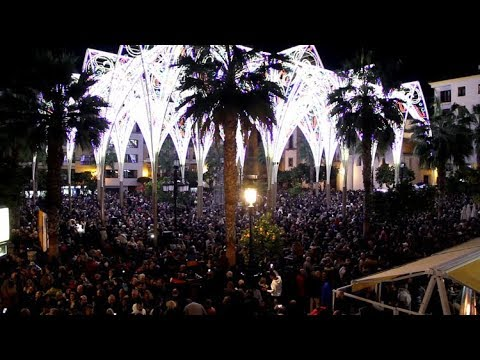 #NAVIDADESPECIAL La Plaza Alta ya luce su alumbrado extraordinario de Navidad