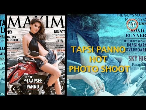 TAAPSEE PANNU HOT PHOTO SHOOT WITH MAXIM MAGAZINE