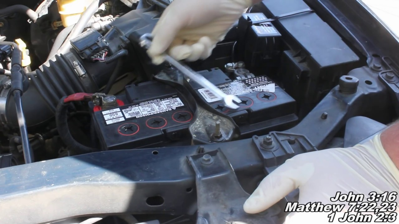 Ford Escape Alternator Remove Replace How To