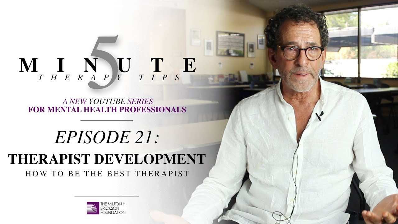 Download 5 Minute Therapy Tips - Episode 21: Therapist Development - How to Be the Best Therapist