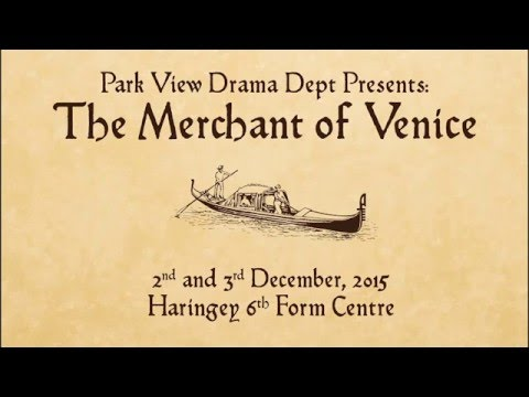 The Merchant of Venice Performance Video