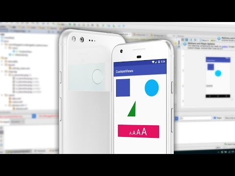 Android Custom View Tutorial - Shapes, Images and Custom Attributes - part 1