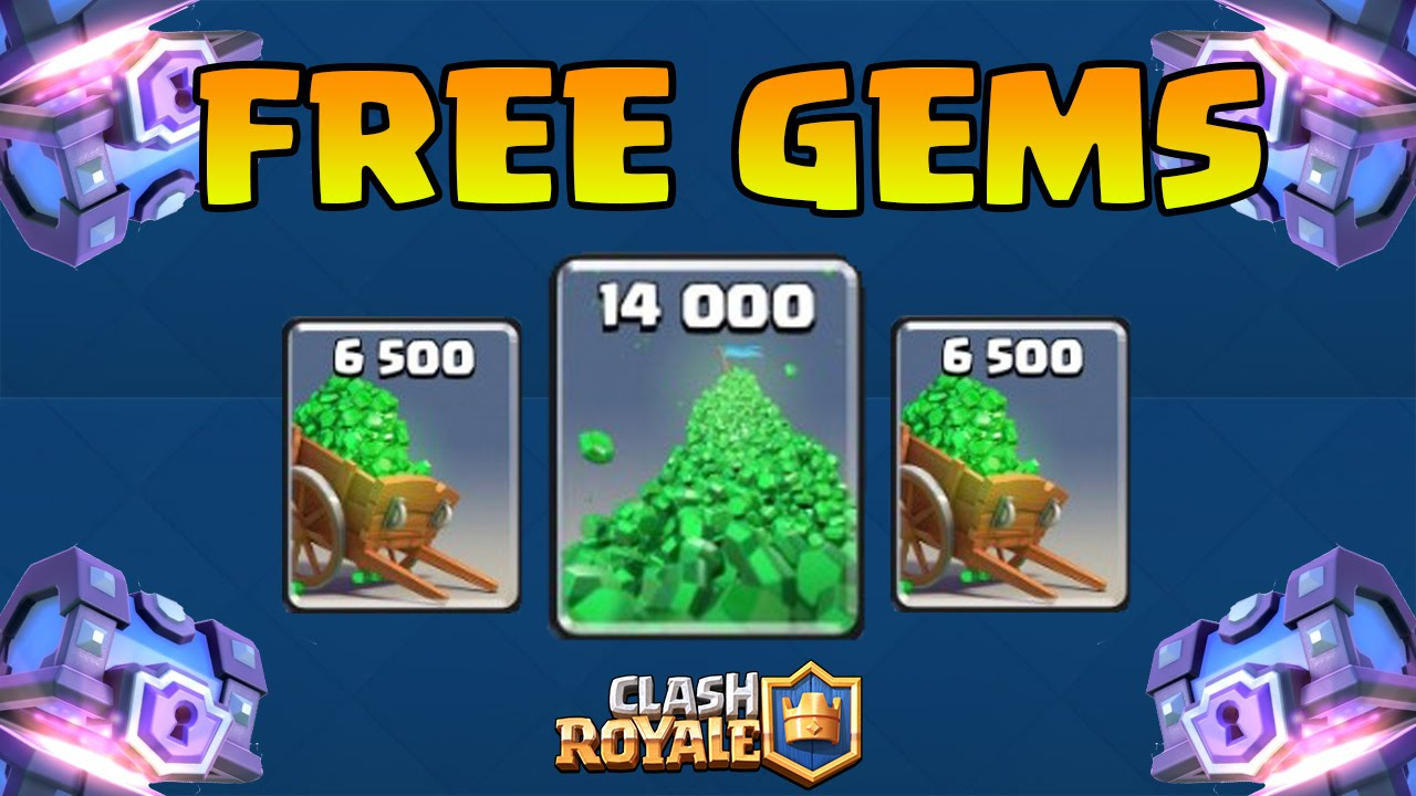 HOW TO GET FREE GEMS IN CLASH ROYALE NO HACK! Fastest ...