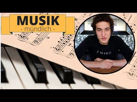 Mündliche Abiturprüfung Musik - Etwas Hilfe von mir