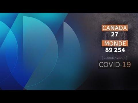Les préparations contre le coronavirus à Montréal