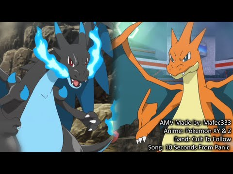 mega-charizard-x-vs-mega-charizard-y--anime--hd-amv