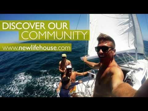 New Life House Graduates Sailing in San Diego, CA