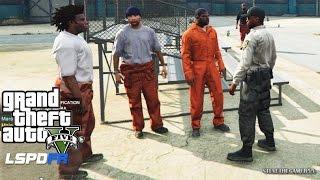 GTA 5 - LSPDFR - EPiSODE 70 - LET'S BE COPS - PRISON GUARD PATROL (GTA 5 PC POLICE MODS) BOLINGBROKE