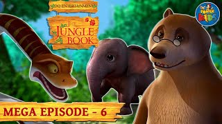 The Jungle Book Cartoon Show Mega Episode 6 | Latest Cartoon Series for Children