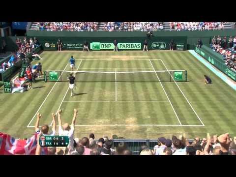 #GBRFRA Andy Murray (GBR) v Gilles SImon (FRA)