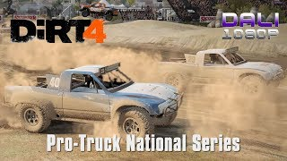 DiRT 4 Pro-Truck National Series PC Gameplay 1080p 60fps