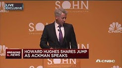 Bill Ackman: Recommend Howard Hughes at 2017 Sohn Investment Conference