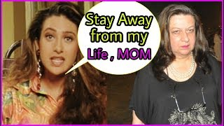 Karisma Kapoor lashes out at mom Babita Kapoor for again & again interfering in her life || Finally