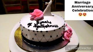 vlog : 3rd Anniversary Celebration || Husband ne aaj mere liye Kya gaana gaya😘A Romantic Evening
