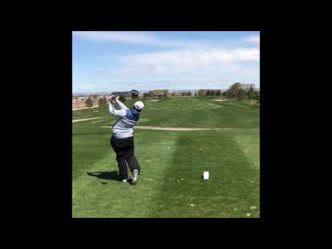 FIRST VIDEO!!! DRIVER SWINGS (iron slomo on the end).