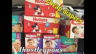 Target Diaper Deal 3/20-3/26 Cheap/FREE Wipes - 50% off with Coupons